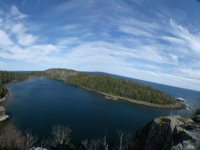 Passage Island, Isle Royale. 2012 (photo Susan Lee)