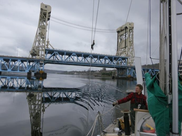 Houghton Michigan Lift Bridge. 2012 (photo Susan Lee)