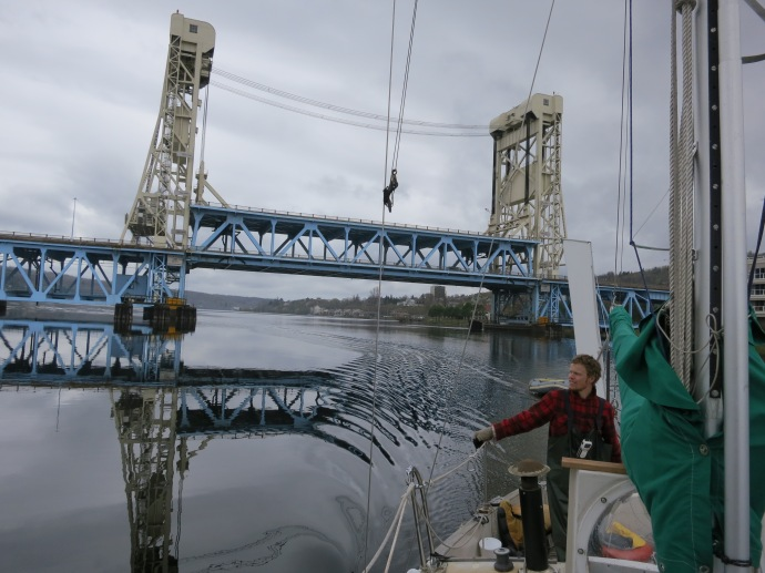 Houghton Michigan Lift Bridge. 2012 (photo Susan Lee)