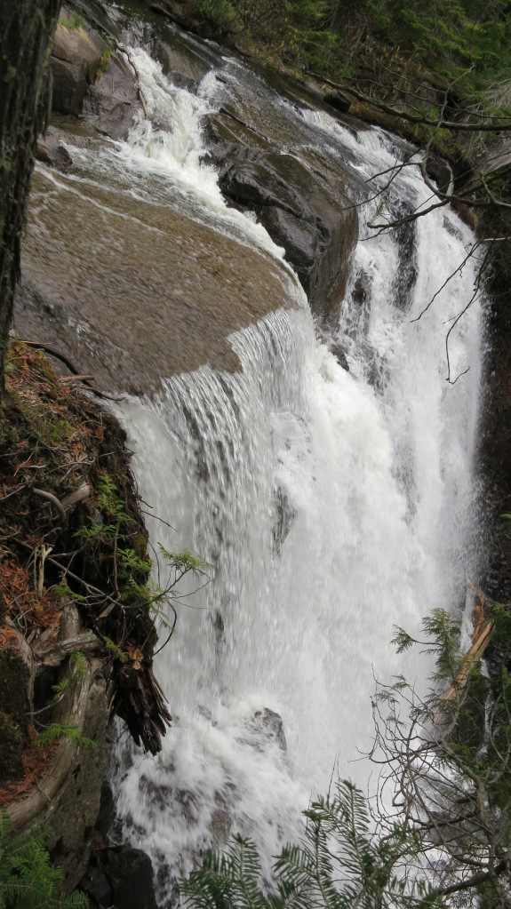 Otter Falls @ Otter Cove, Canadien North Shore. 2012 (photo Susan Lee)