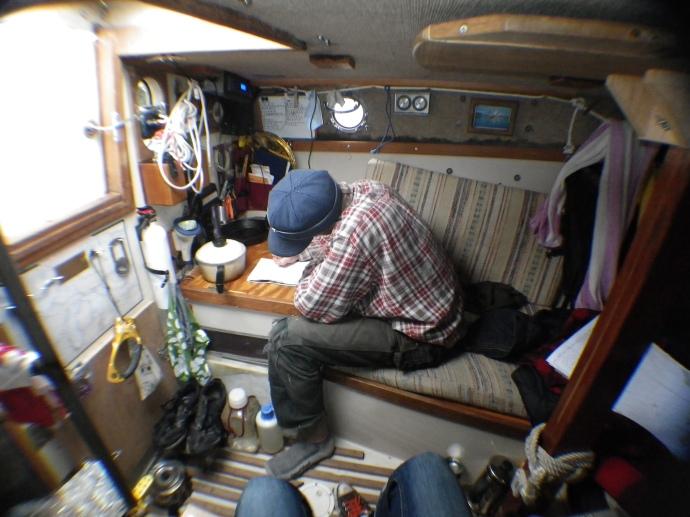 Inside Voyageur. 2012 (photo Susan Lee)