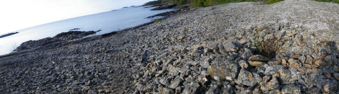 Pukaskwa Pit, Canadien North Shore. 2012 (photo Marlin Ledin)